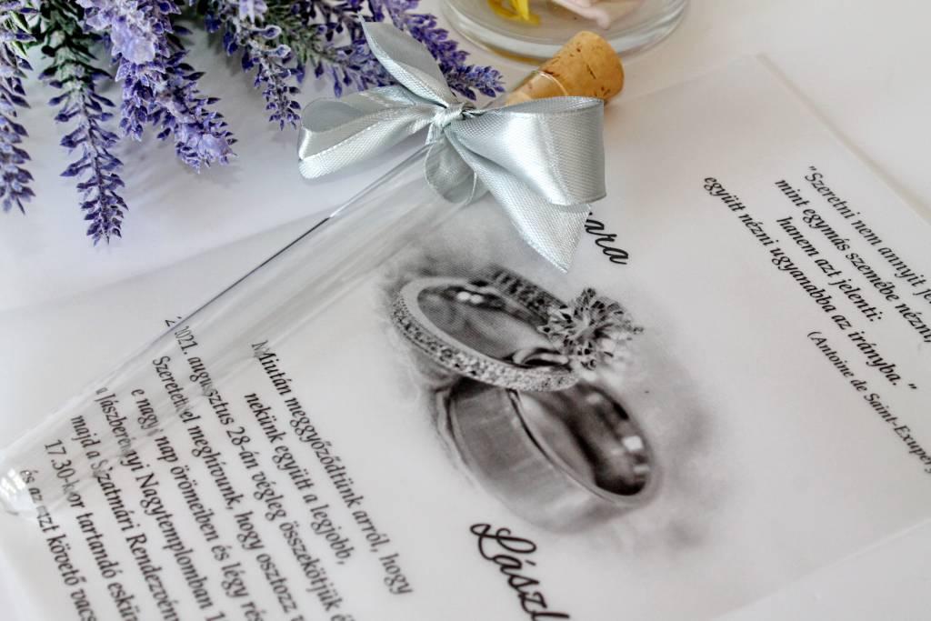 reagenzglasige einladung mit weißer pauspapier 010