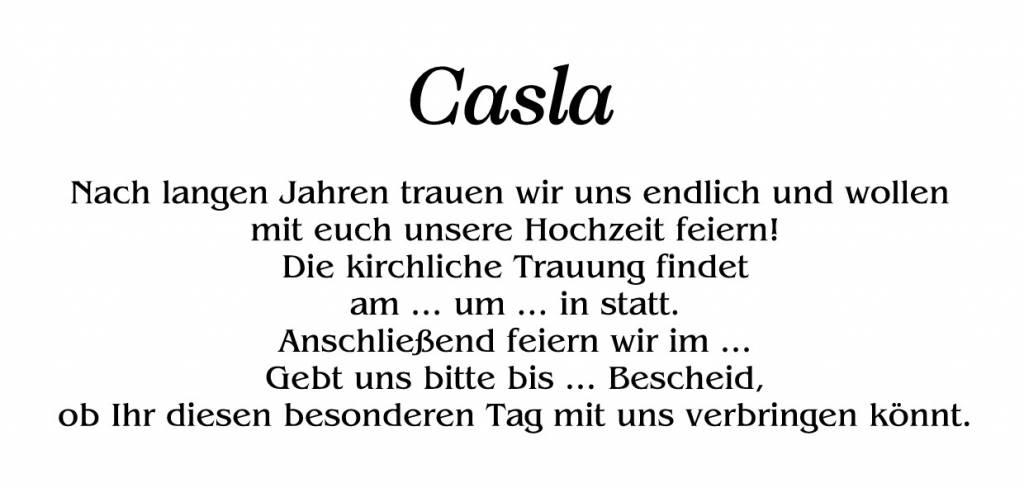 Casla