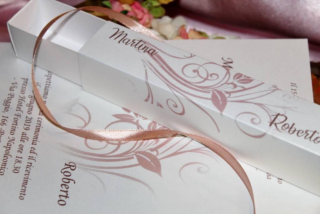 rose gold hochzeitseinladung box 001