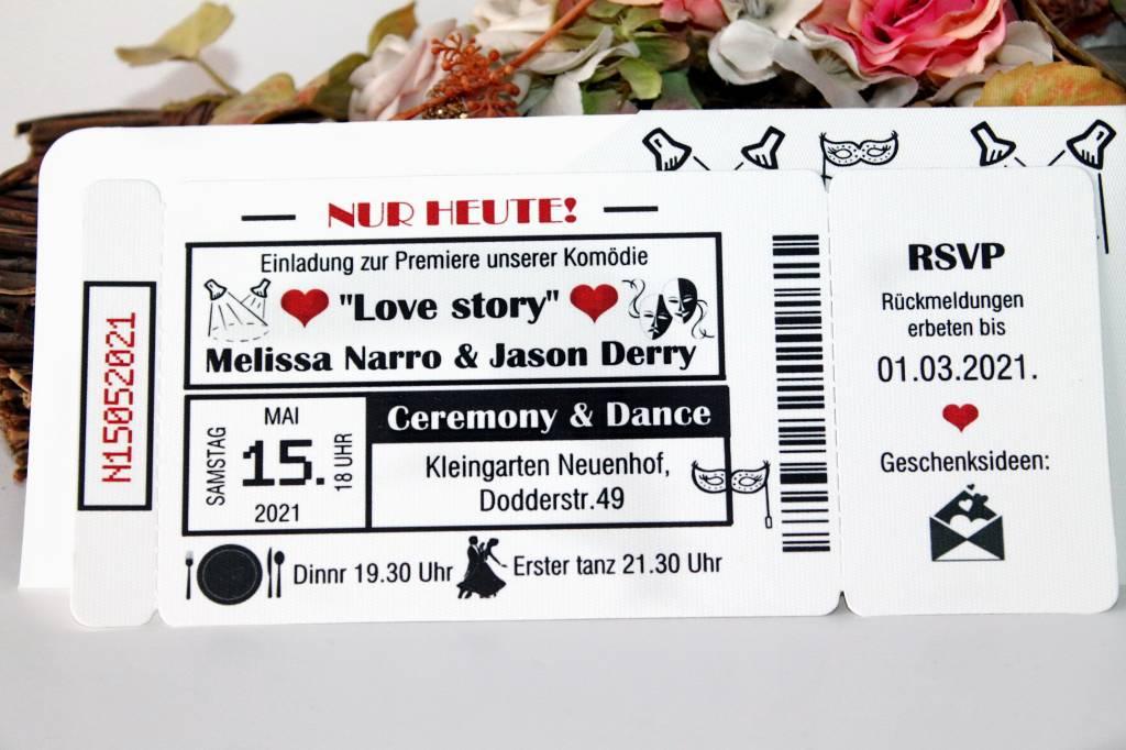 theater ticket hochzeitseinladung 004