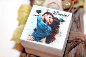 Gastgeschenk Box mit Foto 01