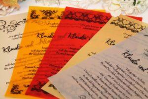 reagenzglasige einladung mit farbiger pauspapier 001